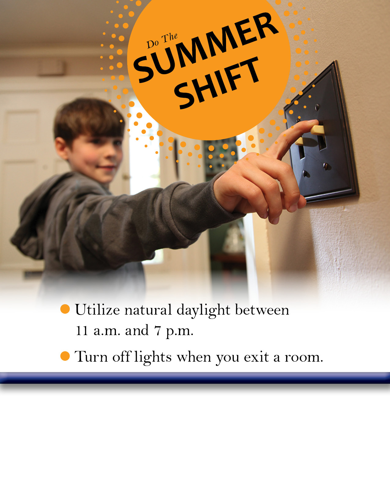 Do the Summer Shift, Turn out the Lights